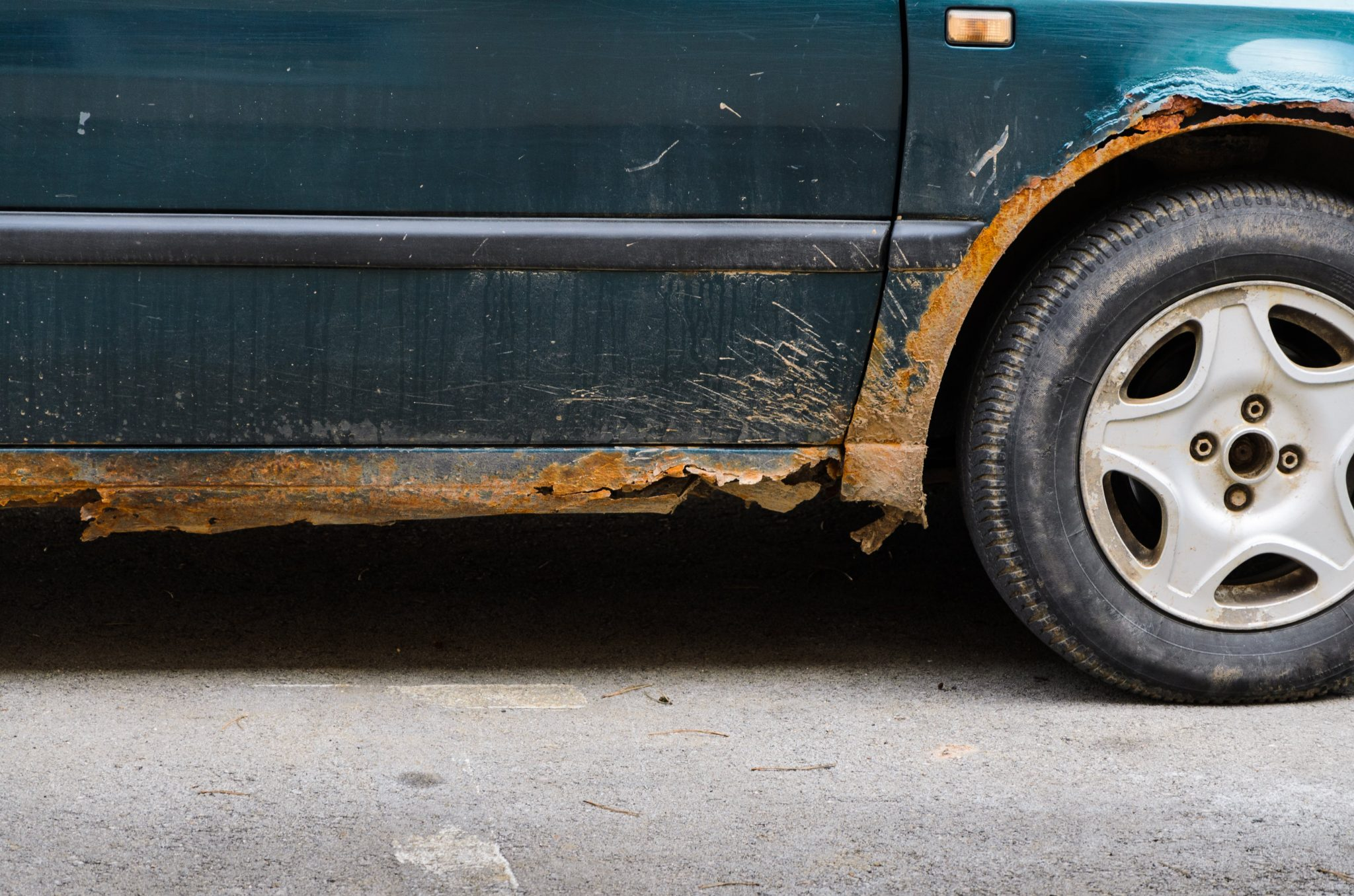does insurance cover rust damage