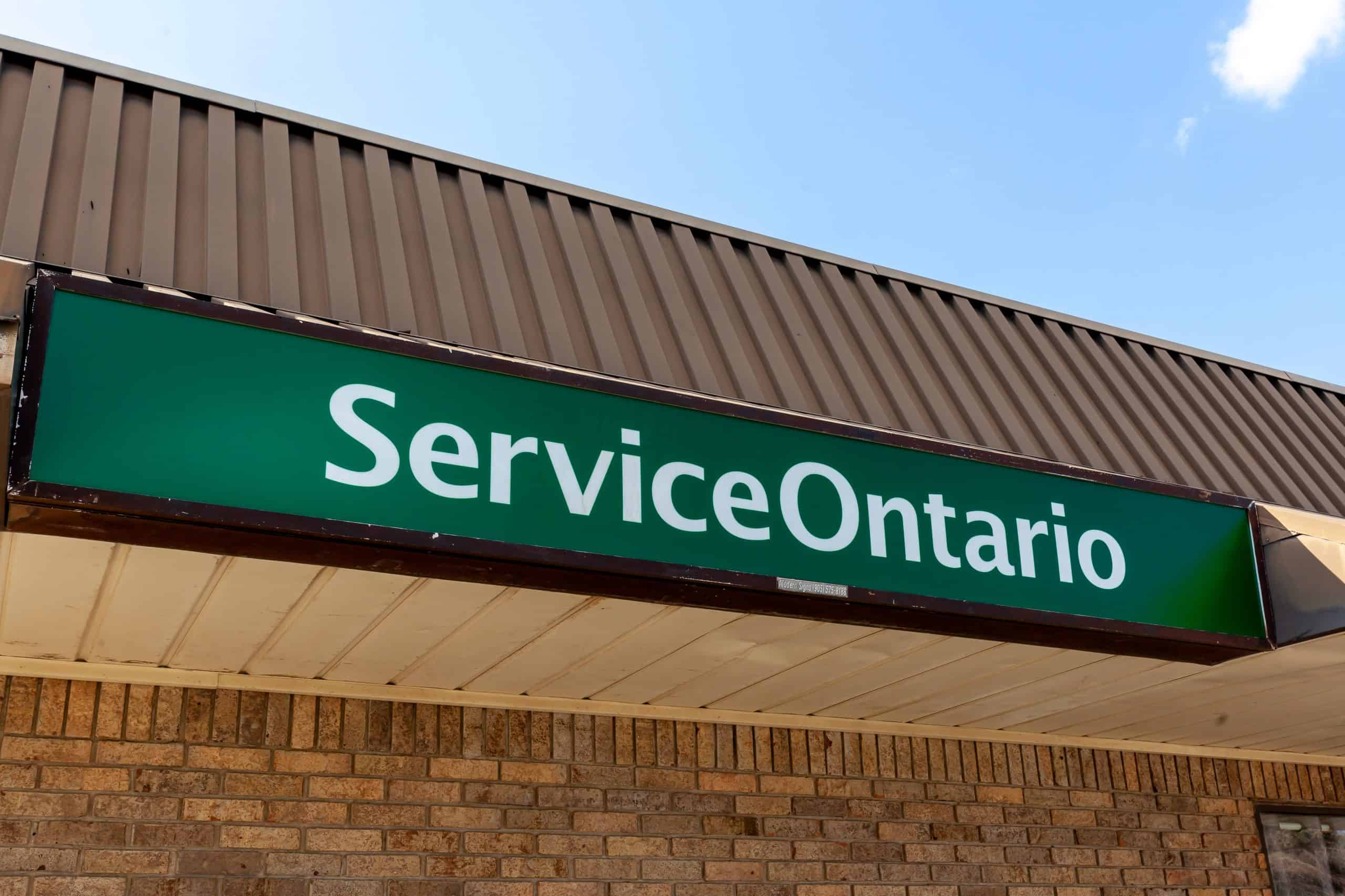 can you register a vehicle without insurance in ontario