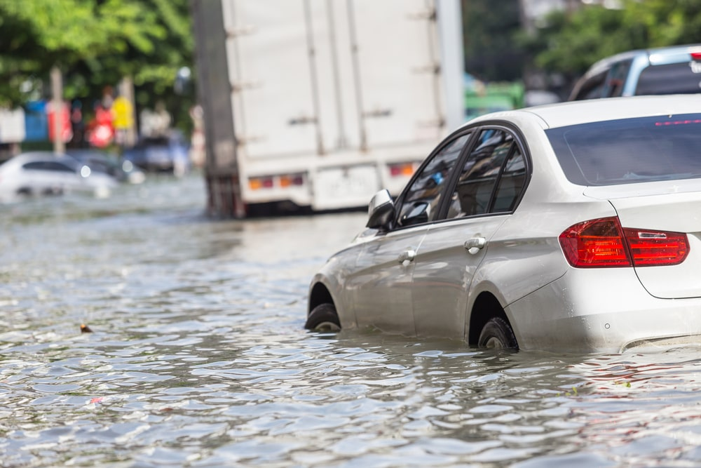 does my car insurance cover water damage